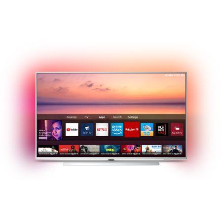 Televizor LED Smart Philips, 108 cm, 43PUS6804/12, 4K Ultra HD