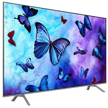 Televizor QLED Smart Samsung, 138 cm, 55Q6FN, 4K Ultra HD