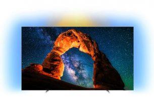 Televizor OLED Smart Android Philips, 139 cm, 55OLED803/12