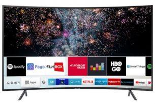 Televizor LED Curbat Smart Samsung, 163 cm, 65RU7302Televizor LED Curbat Smart Samsung, 163 cm, 65RU7302