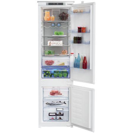 Combina frigorifica incorporabila Beko BCNA306E3S, 284 l, Clasa A++, NoFrost, H 193 cm