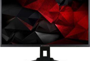 "Monitor Gaming LED IPS Acer Predator 32"", UHD (4K), G-SYNC, HDMI, Display Port, Boxe, Negru, XB321HK"