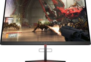 "Monitor gaming LED TN HP Omen X 25 24.5"", Full HD, Display Port, G-Sync, 240Hz, Negru"
