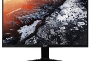 "Monitor gaming LED Acer 24.5"", Full HD, ZeroFrame™, FreeSync™, 240Hz, Display Port, Negru, KG251QDbmiipx"