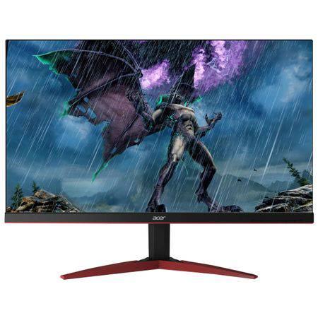 "Monitor gaming LED Acer 24.5"", Full HD, ZeroFrame™, FreeSync™, 240Hz, Display Port, Negru, KG251QDbmiipx"