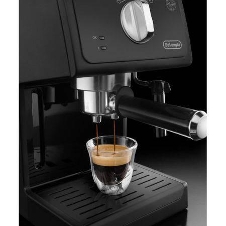 Espressor De'Longhi ECP 31.21, 1100W, 15 bar, 1.1 l, Negru