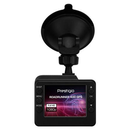 Camera auto DVR cu GPS Prestigio RoadRunner PCDVRR400GPS