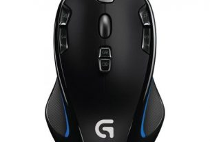 Mouse gaming Logitech G300S, Negru/Albastru