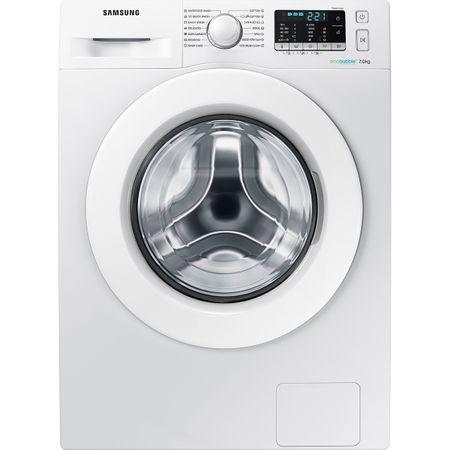 Masina de spalat rufe Samsung Eco Bubble WW70J5345MW/LE, 7 kg, 1200 rpm, Clasa A+++