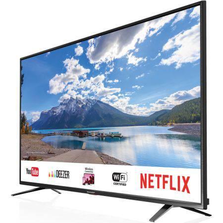 Televizor LED Smart Sharp, 164 cm, 65BJ5E, Ultra HD 4K