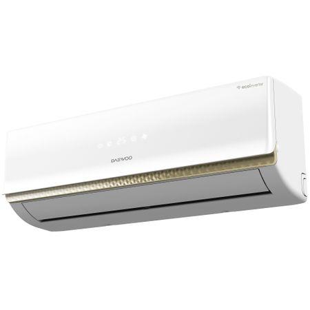 Aparat de aer conditionat Daewoo 12000 BTU Wi-Fi, Clasa A++, kit instalare inclus, 4 directii de ventilare, DSB-H1202JLH-VKW