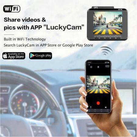 Camera Auto M06,4K,120 FPS,GPS,Procesor Nova artek 96660, WiFI, WDR