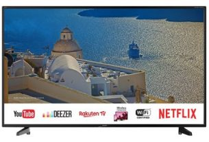 Televizor LED Smart Sharp, 127 cm, 50UI7422E, 4K Ultra HD
