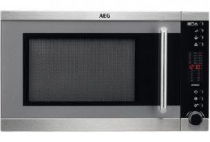 Cuptor cu microunde AEG MFC3026S-M, 28 l, 900 W, Grill, Digital, Inox