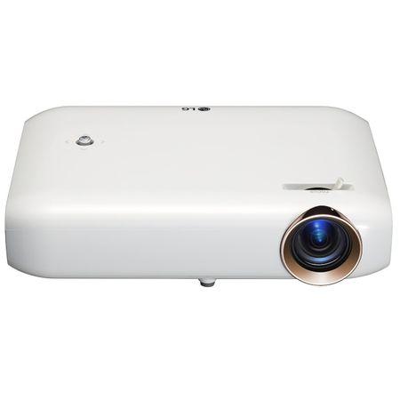 Videoproiector LG PW1500G3D DLP, WXGA, 1500 lumeni, Alb