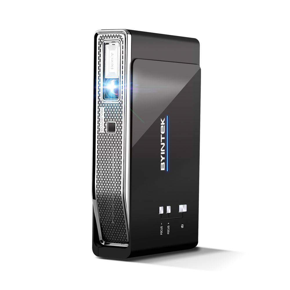Videoproiector smart, portabil, 3D BYINTEK UFO R15, 4k, 600 ANSI lumeni, Android, HDMI