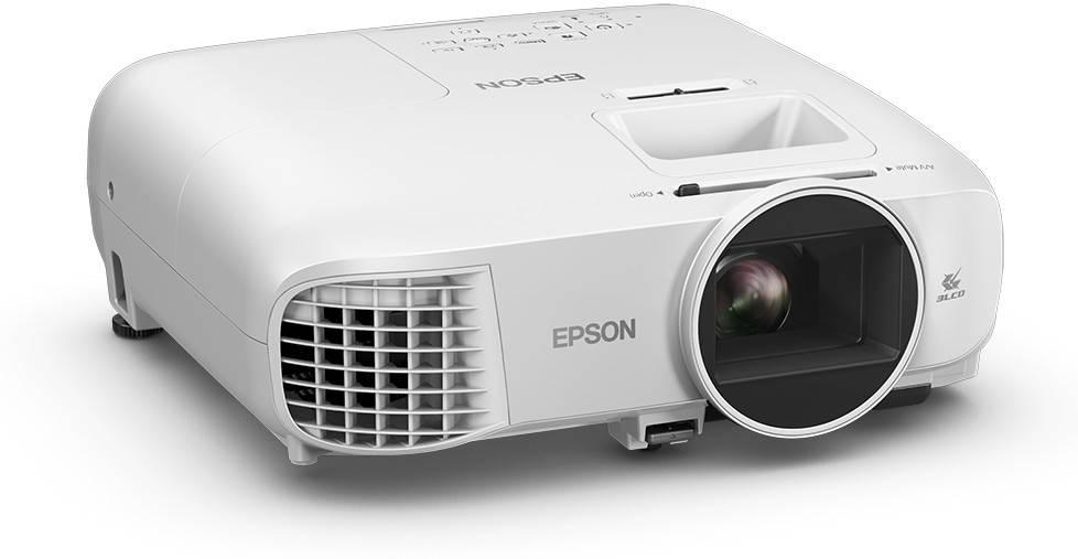 Videoproiector Epson EH-TW5400, Full HD, 2500 lumeni, alb