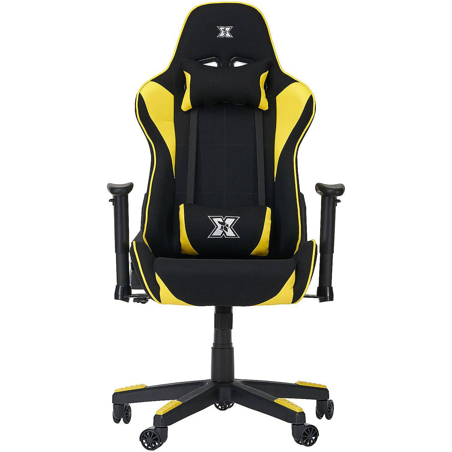 Scaun gaming Serioux Torin, Black/Yellow