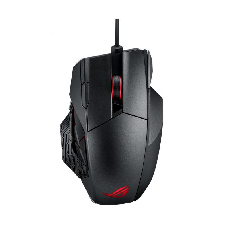 Mouse Gaming ASUS ROG Spatha, 8200 dpi, Negru