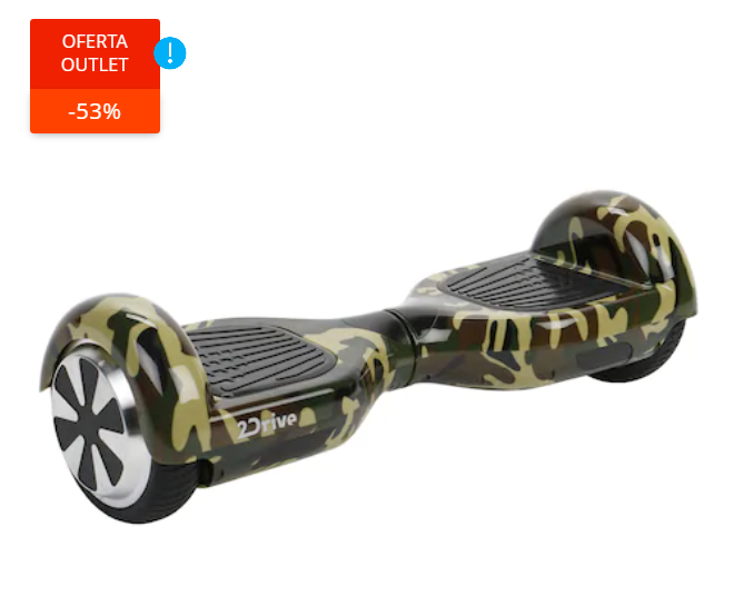 "Scooter electric 2Drive, roti 6.5"", autonomie 15 km"