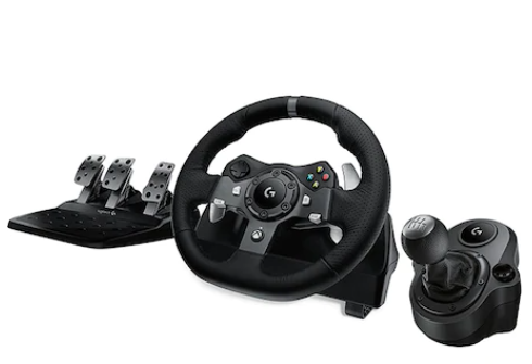 Volan Logitech G29 Driving Force Racing Wheel + pedale + schimbator