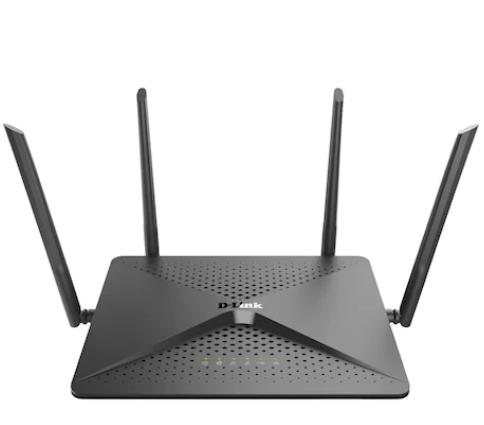 Router D-Link DIR-882, 4 port-uri wireless AC2600