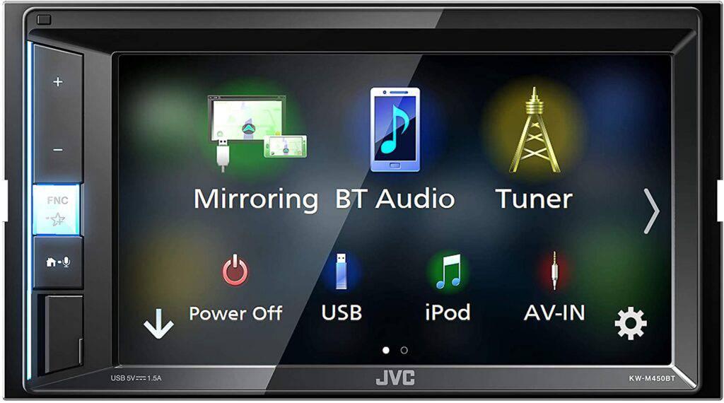 Sistem multimedia auto 2din JVC