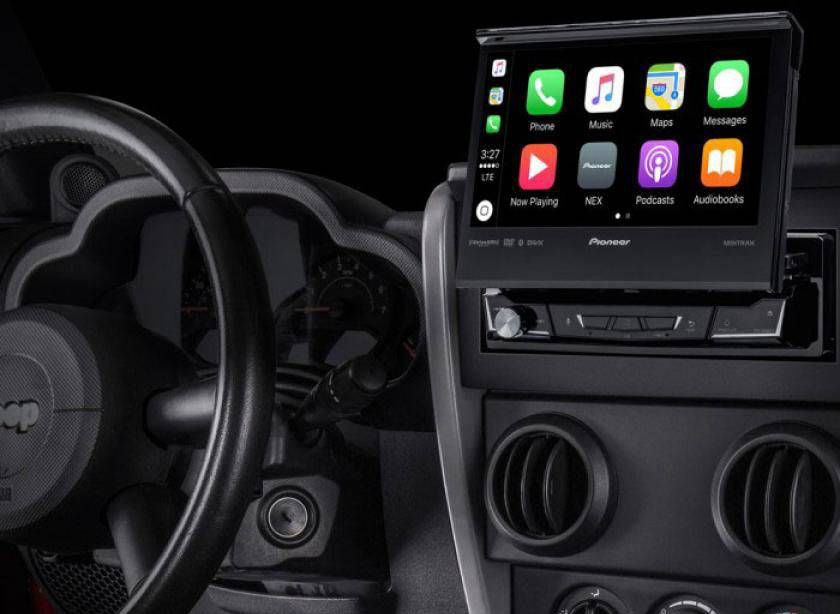 Player auto 1DIN Pioneer